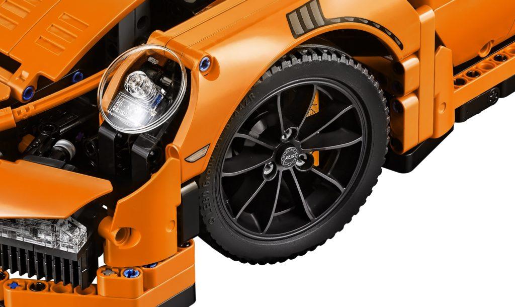 LEGO Technic 42056 Porsche 911 - Wheels
