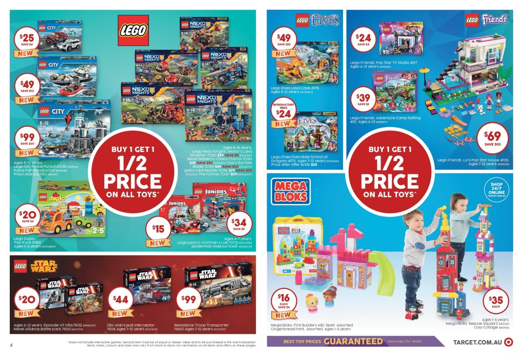 Australian LEGO Sales April 2016