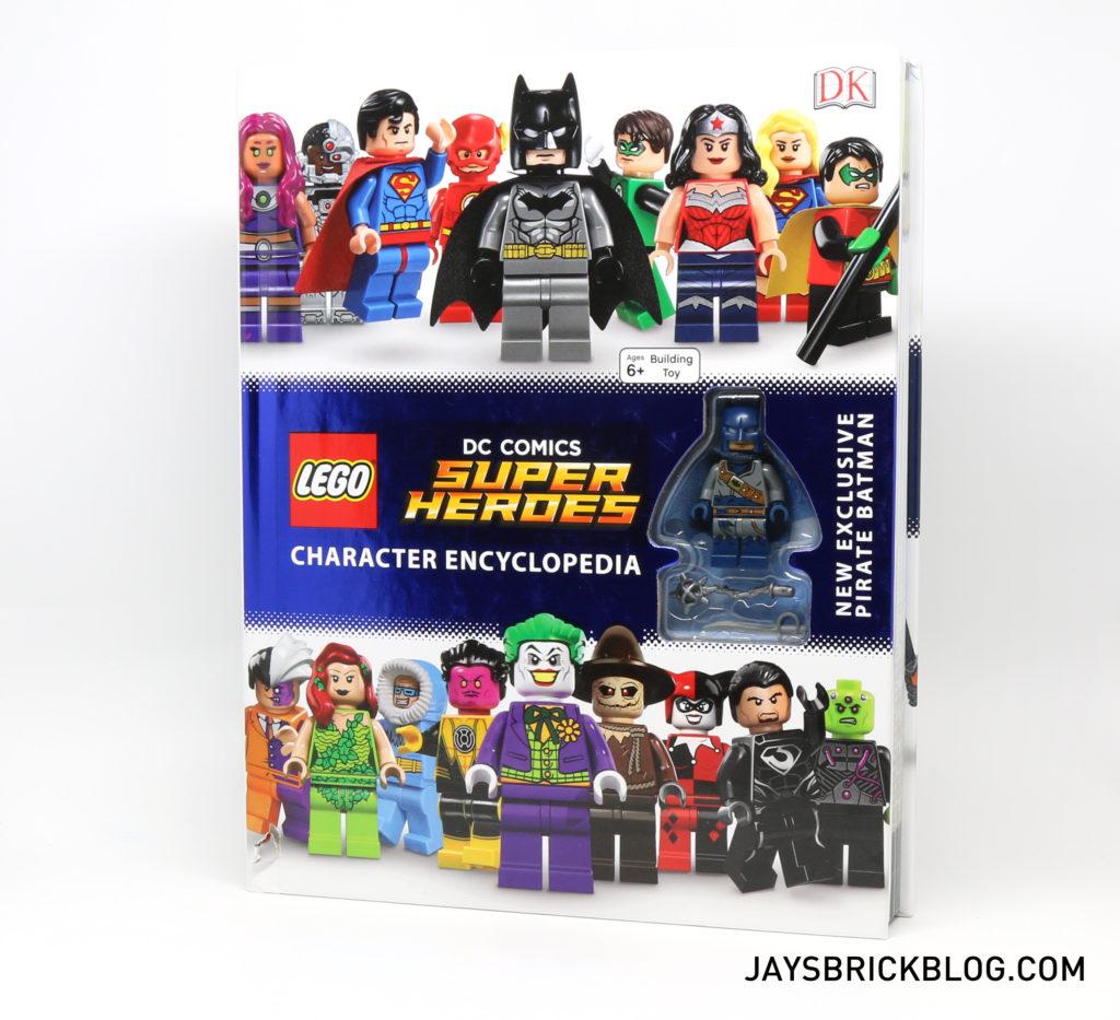 DK LEGO DC Comics Super Heroes Character Encyclopedia - Front Cover