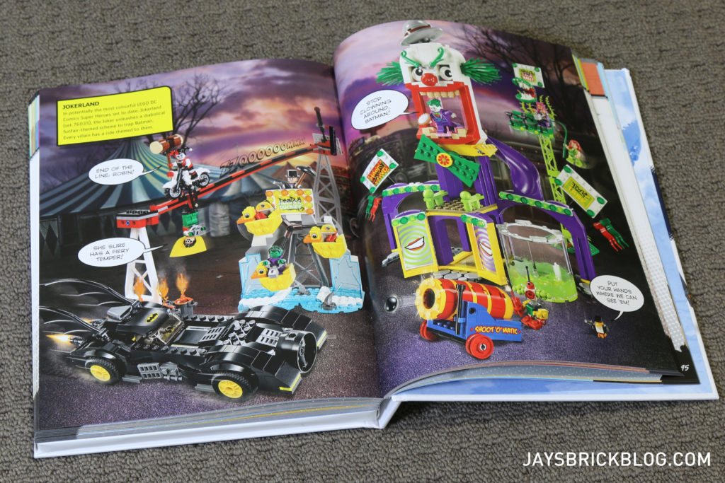 DK LEGO DC Comics Super Heroes Character Encyclopedia - Full Page Spreads