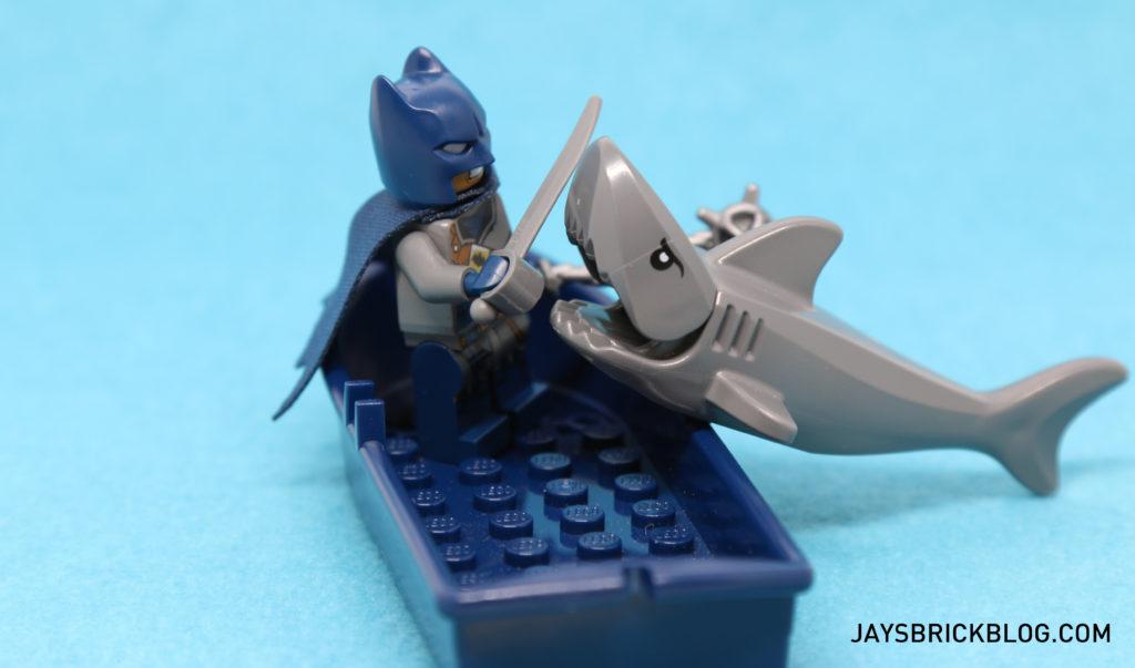 DK LEGO DC Comics Super Heroes Character Encyclopedia - Pirate Batman vs Shark