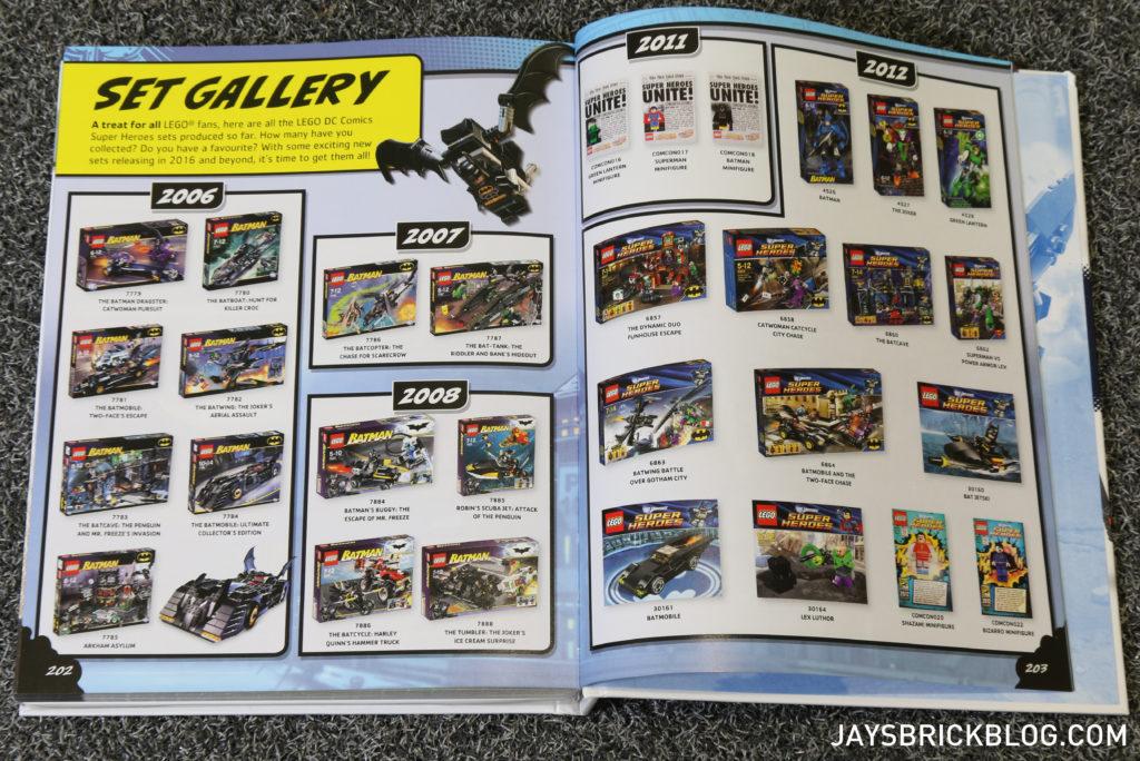 DK LEGO DC Comics Super Heroes Character Encyclopedia - Set Gallery
