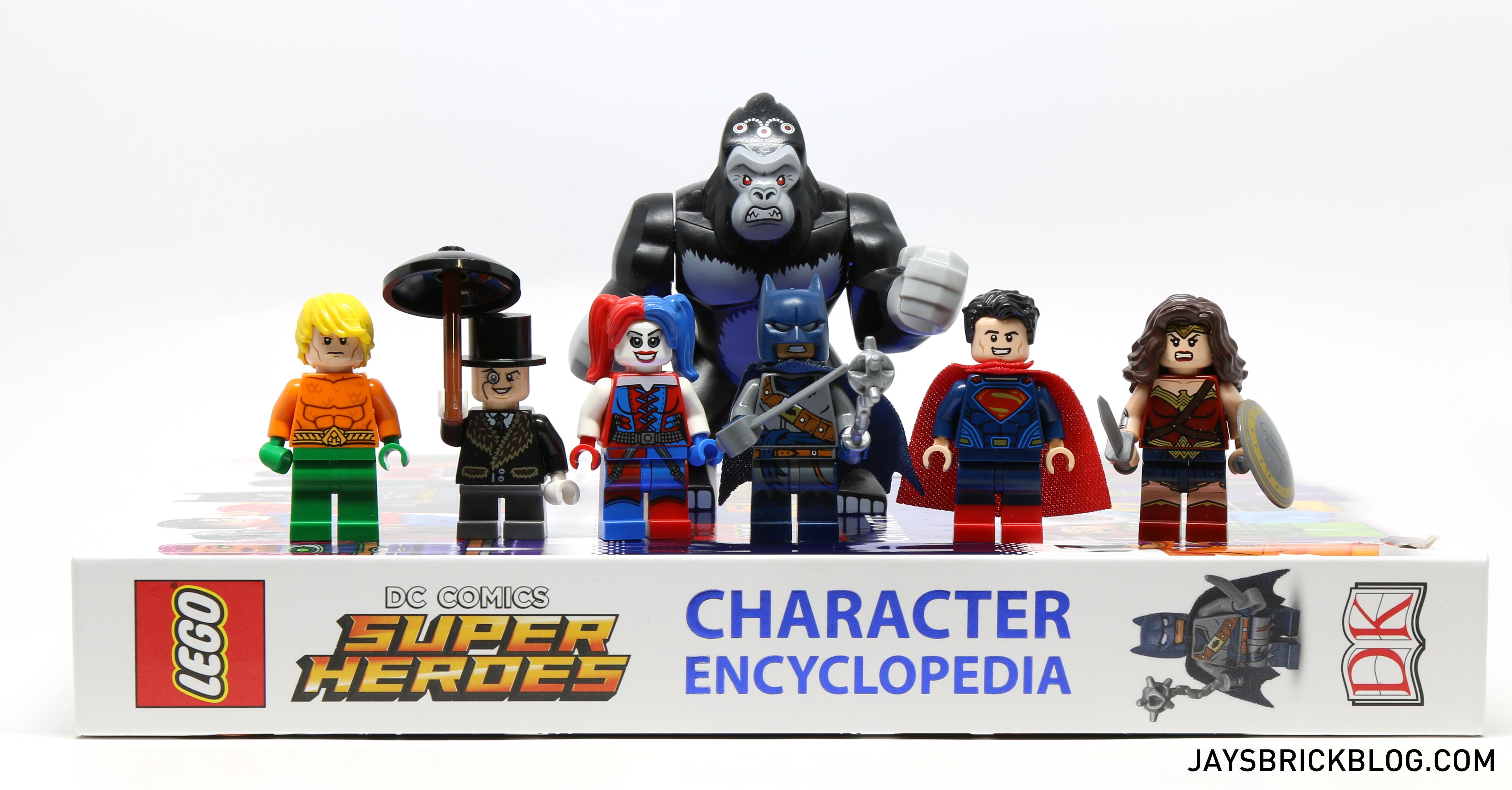 review dk lego dc comics super heroes character encyclopedia