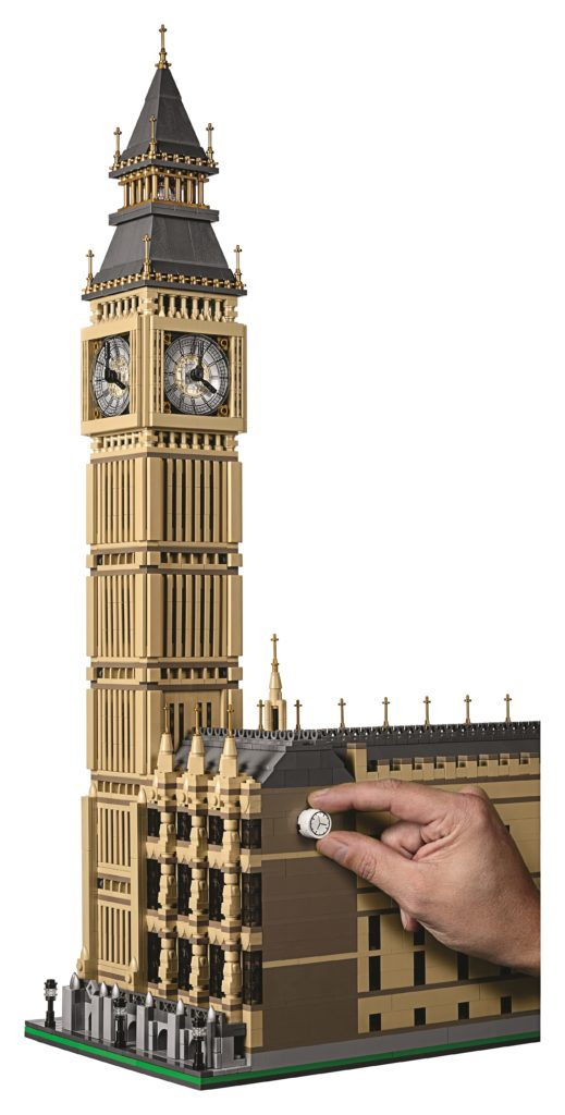 LEGO 10253 Big Ben - Adjust Clock