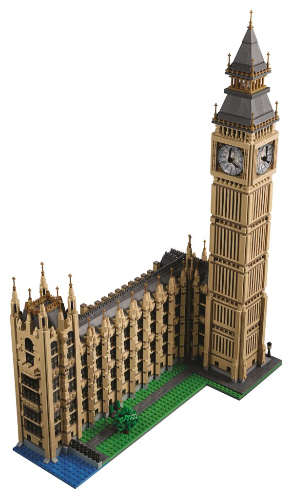 LEGO 10253 Big Ben - Aerial View