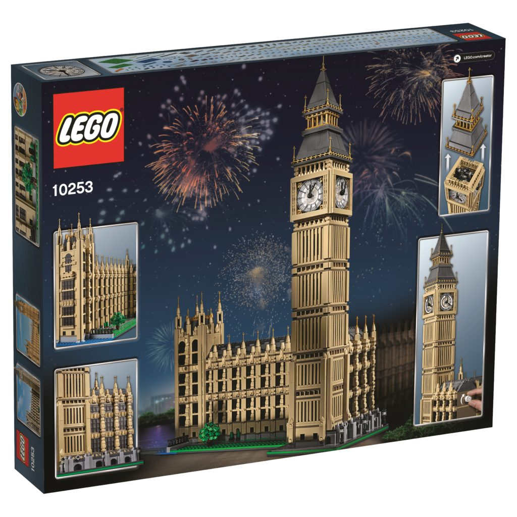 LEGO 10253 Big Ben - Box Back