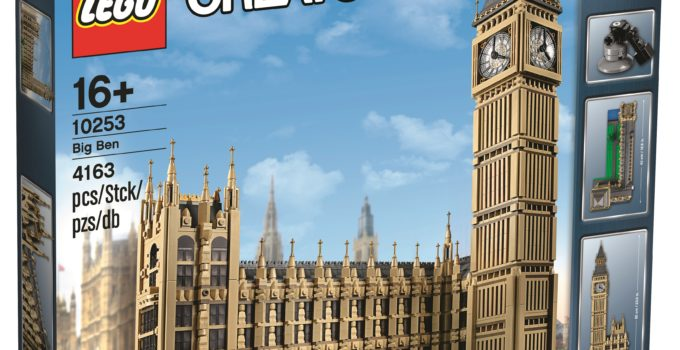 Official release details and photos of LEGO 10253 Big Ben
