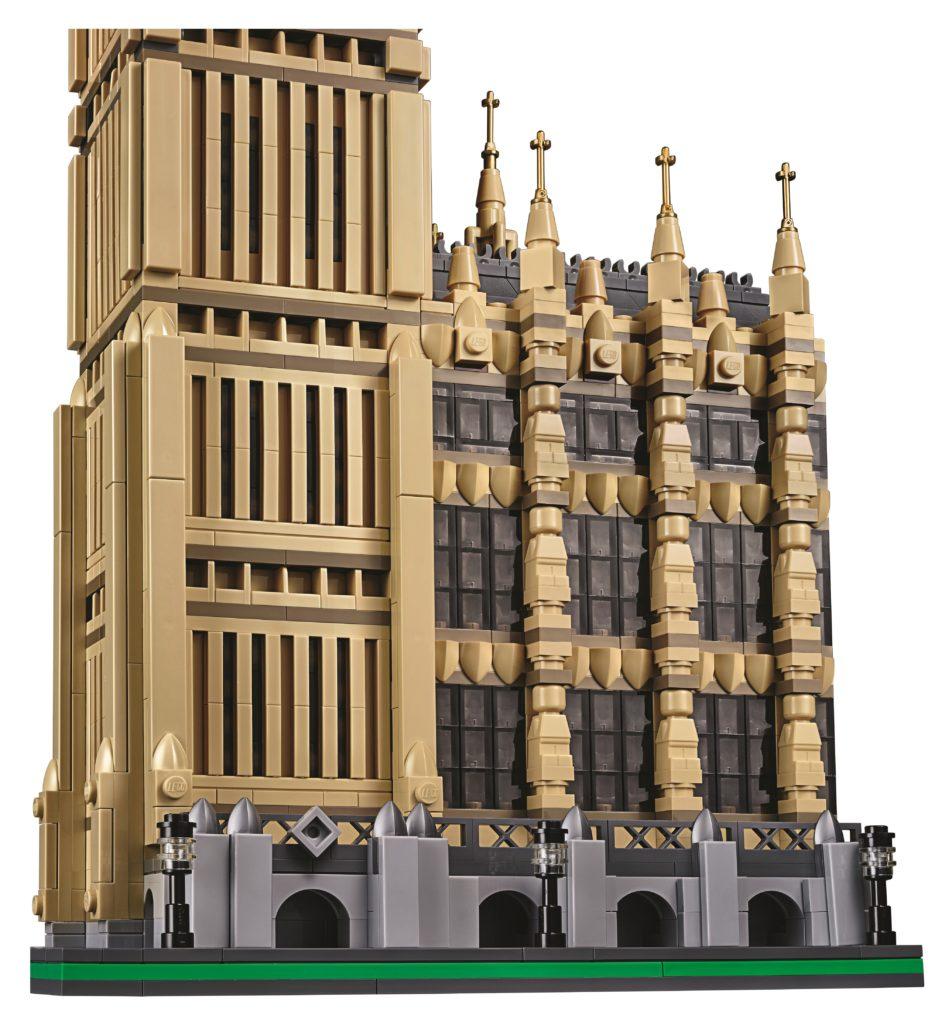 LEGO 10253 Big Ben - Facade Details