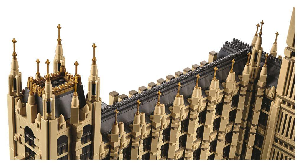 LEGO 10253 Big Ben - Roof Westminster Building