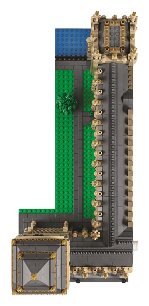 LEGO 10253 Big Ben - Top Down View