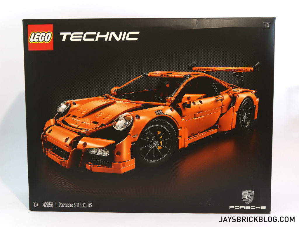 LEGO 42056 Technic Porsche 911 GT3 RS - Box