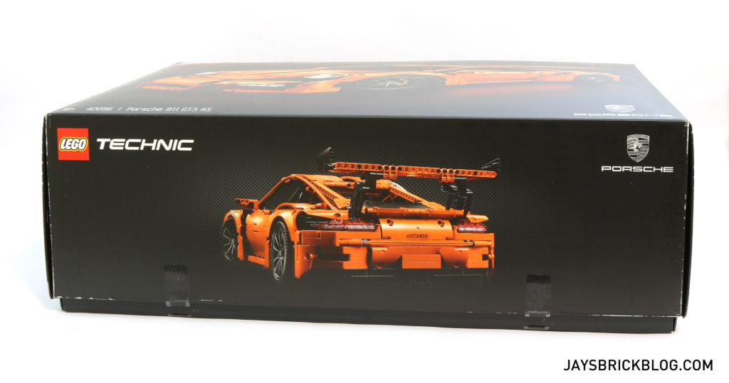 LEGO 42056 Technic Porsche 911 GT3 RS - Box Side