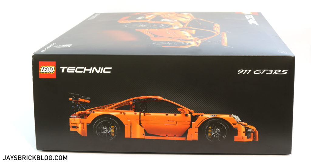 LEGO 42056 Technic Porsche 911 GT3 RS - Box Side 2
