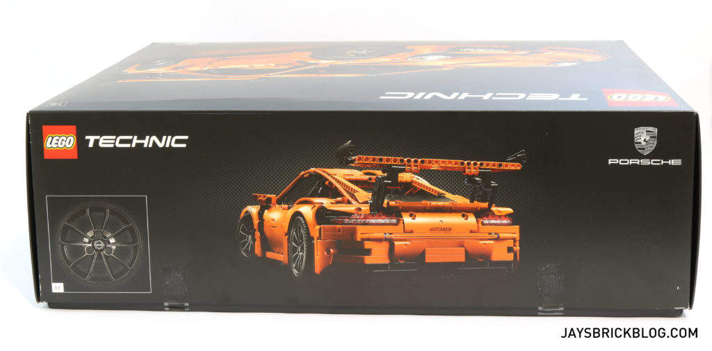 LEGO 42056 Technic Porsche 911 GT3 RS - Box Side 3