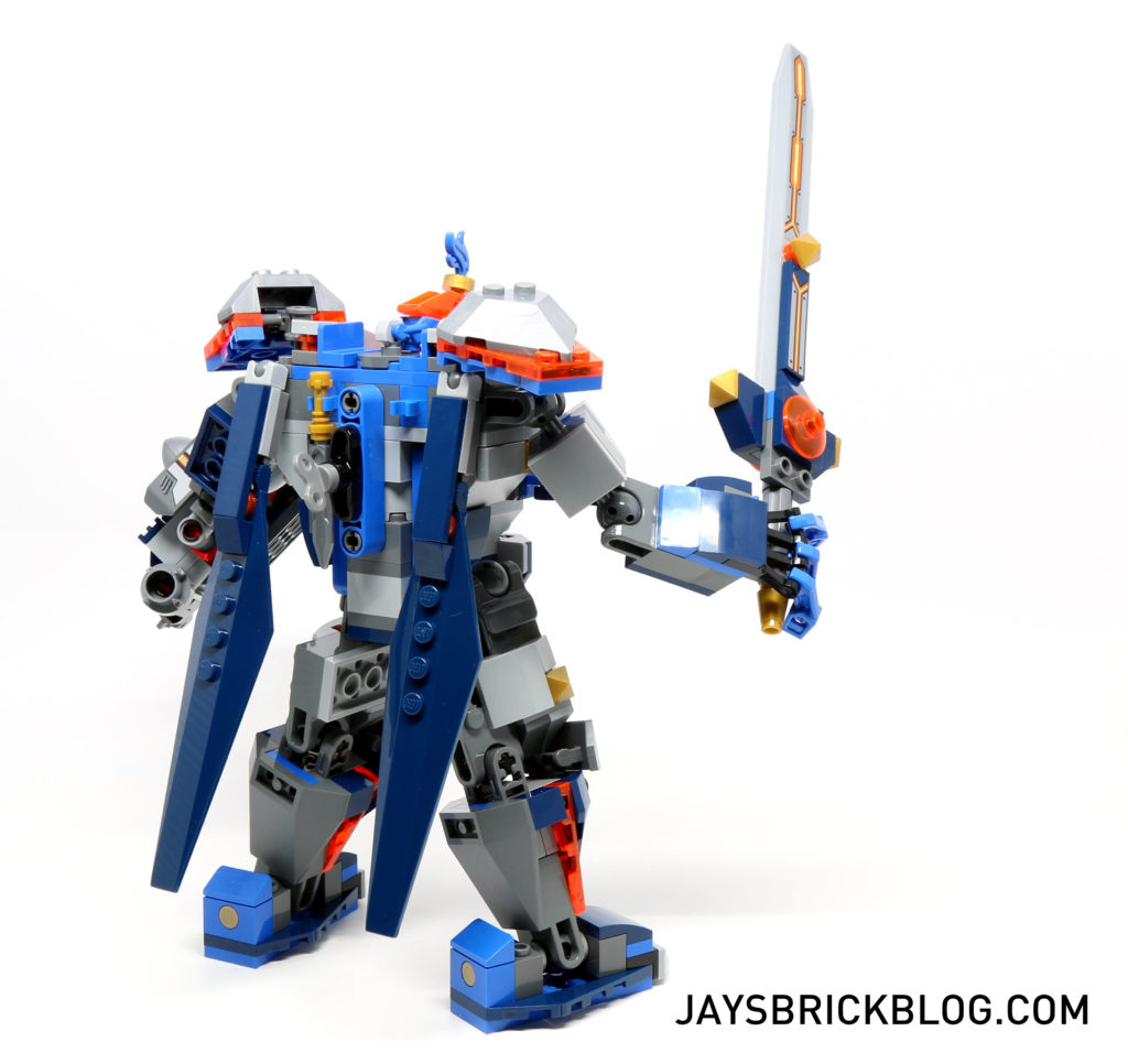 LEGO 70327 The King's Mech - Back View