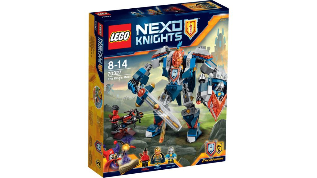 LEGO 70327 The King's Mech - Box