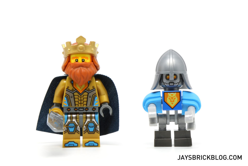 LEGO 70327 The King's Mech - King Halbert and King's Bot Minifigure