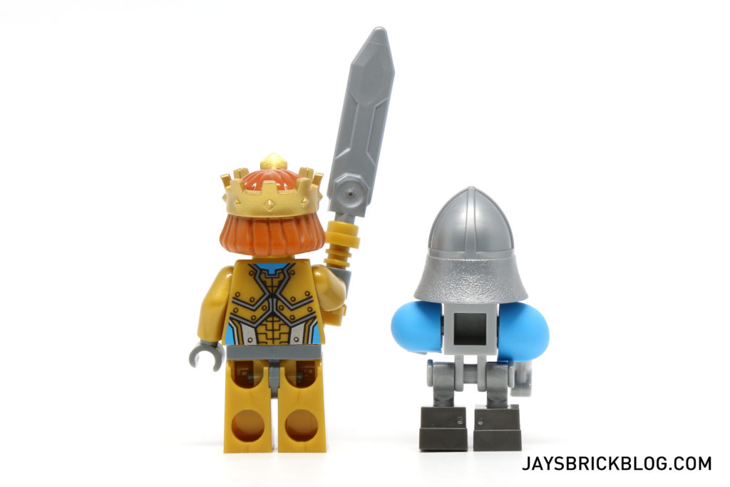 LEGO 70327 The King's Mech - King Halbert and King's Bot Minifigure Back