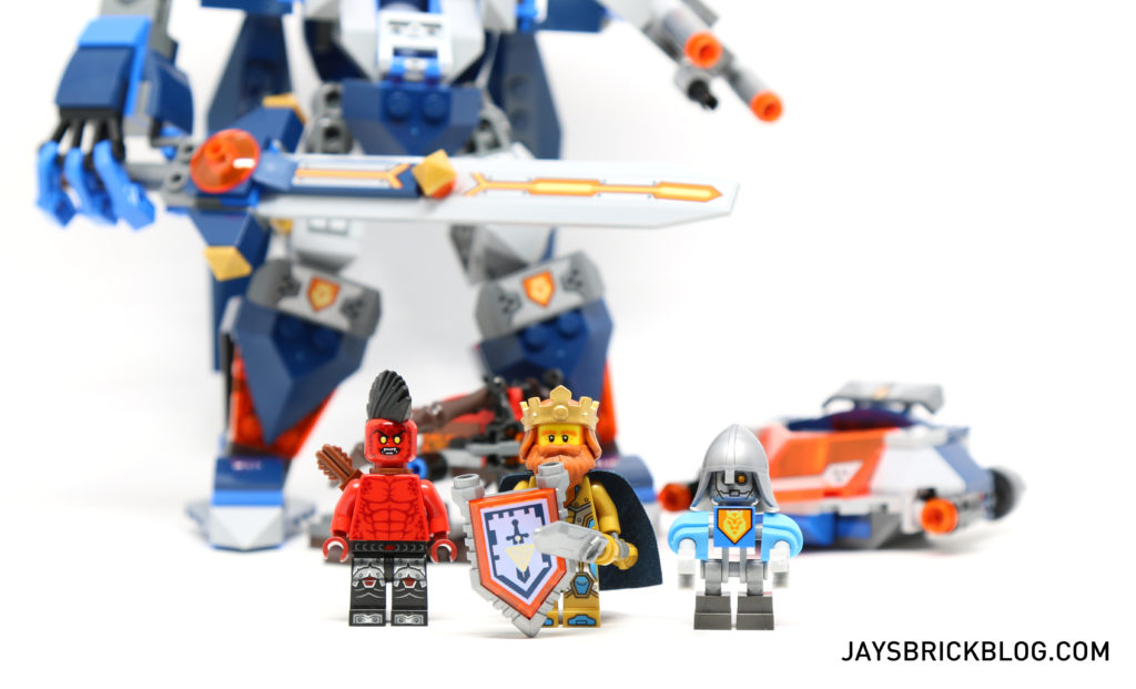 LEGO 70327 The King's Mech - Minifigures
