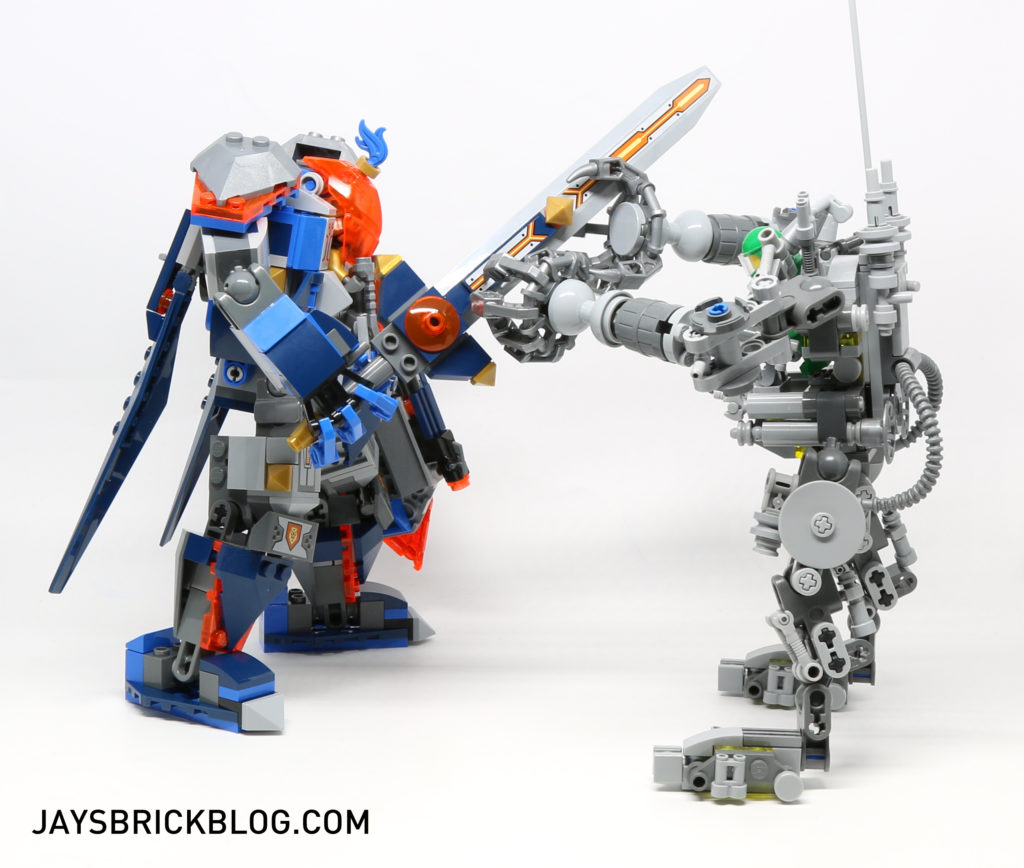 LEGO 70327 The King's Mech - vs Exo Suit