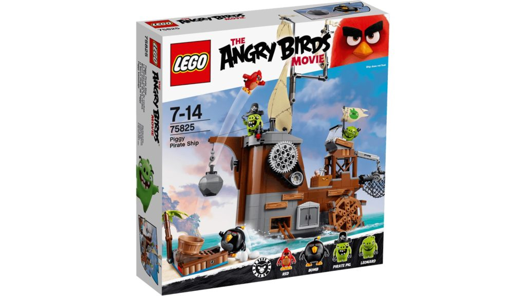 LEGO 75825 Piggy Pirate Ship - Box