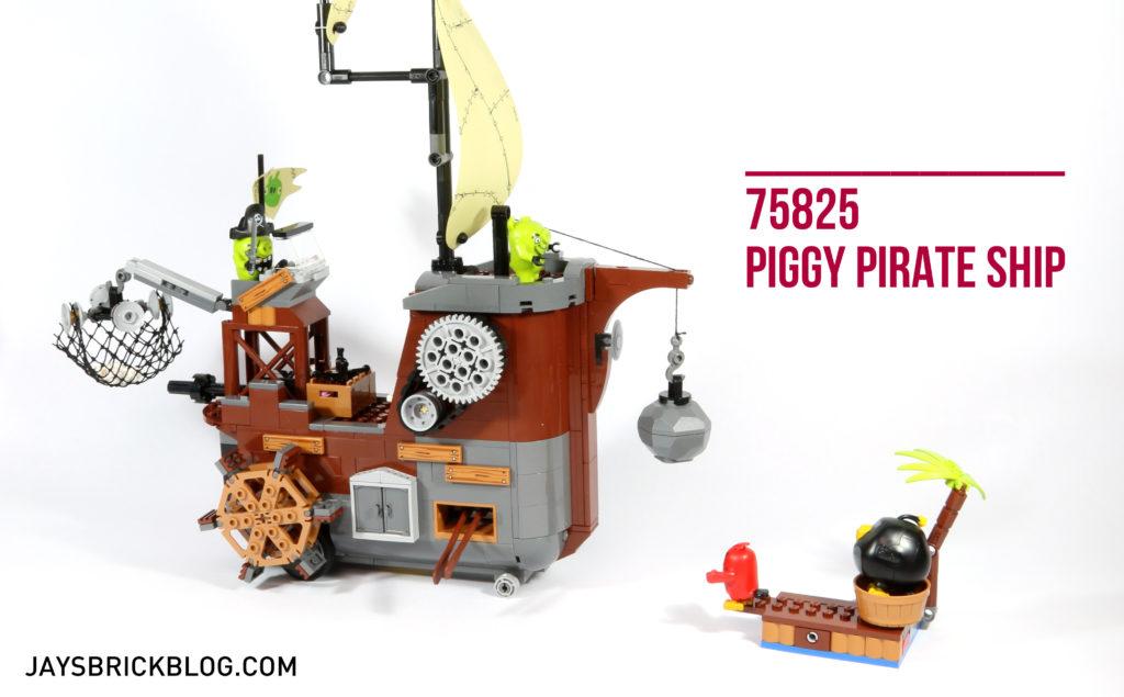 Review: LEGO 75825 Piggy Pirate Ship