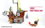 LEGO 75825 Piggy Pirate Ship - Feature Photo