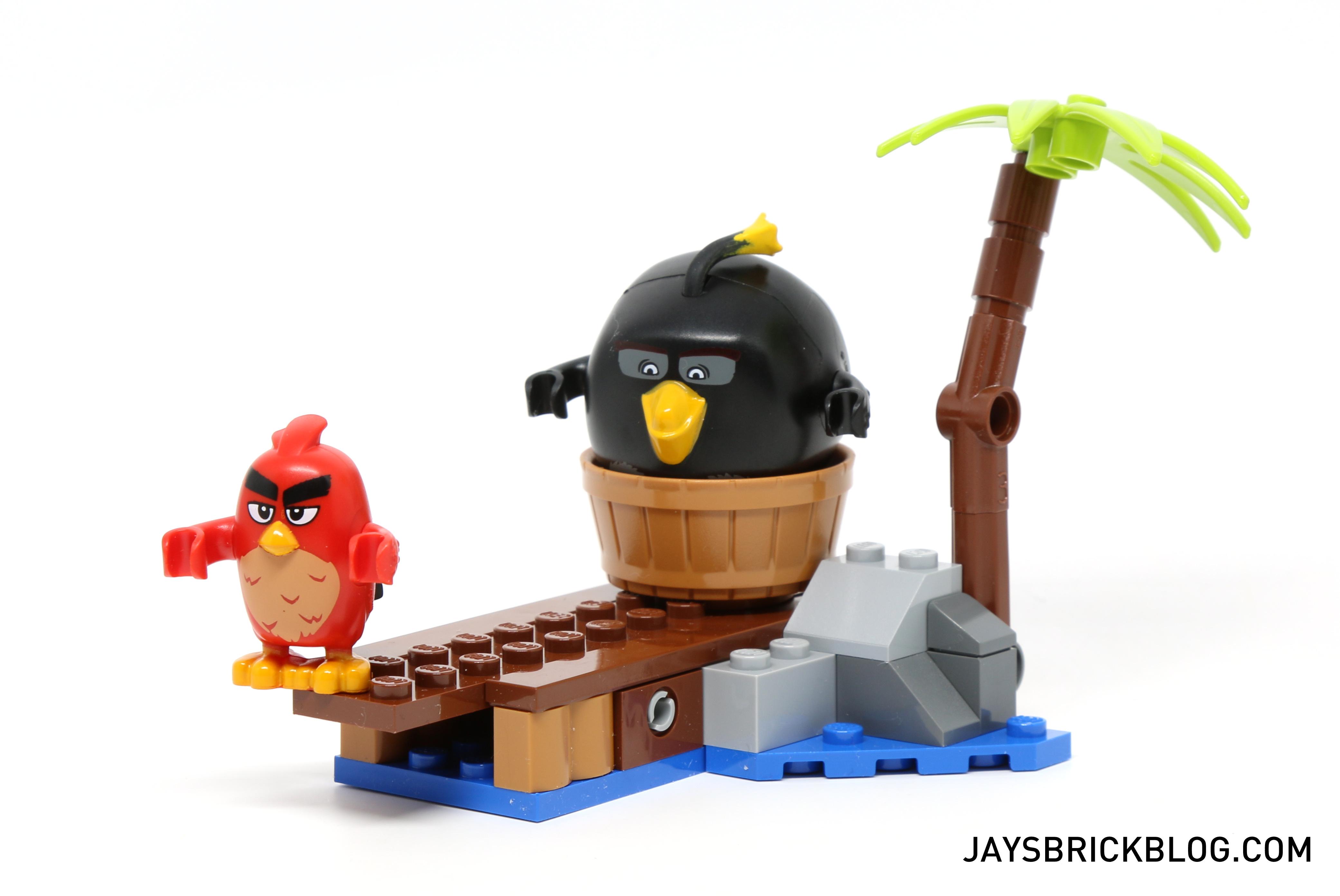 Lego New Leonard From Set 75825 Angry Birds Movie Figure