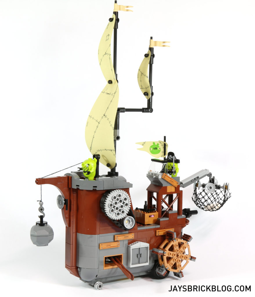 LEGO 75825 Piggy Pirate Ship - Side View