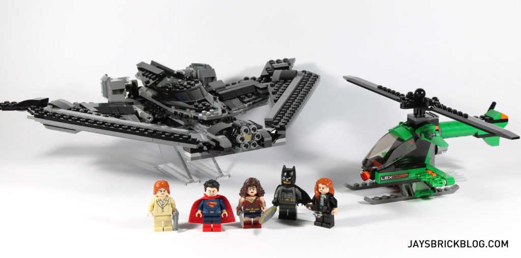 LEGO 76046 Heroes of Justice Sky High Battle