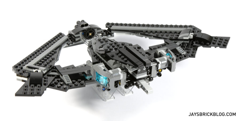 LEGO 76046 Heroes of Justice Sky High Battle - Batwing Back