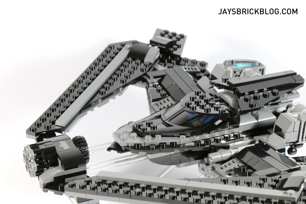 LEGO 76046 Heroes of Justice Sky High Battle - Cockpit Closed