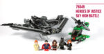 LEGO 76046 Heroes of Justice Sky High Battle - Feature Photo