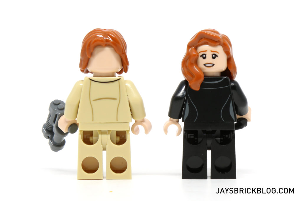 LEGO 76046 Heroes of Justice Sky High Battle - Lex Luthor and Lois Lane Back Torso