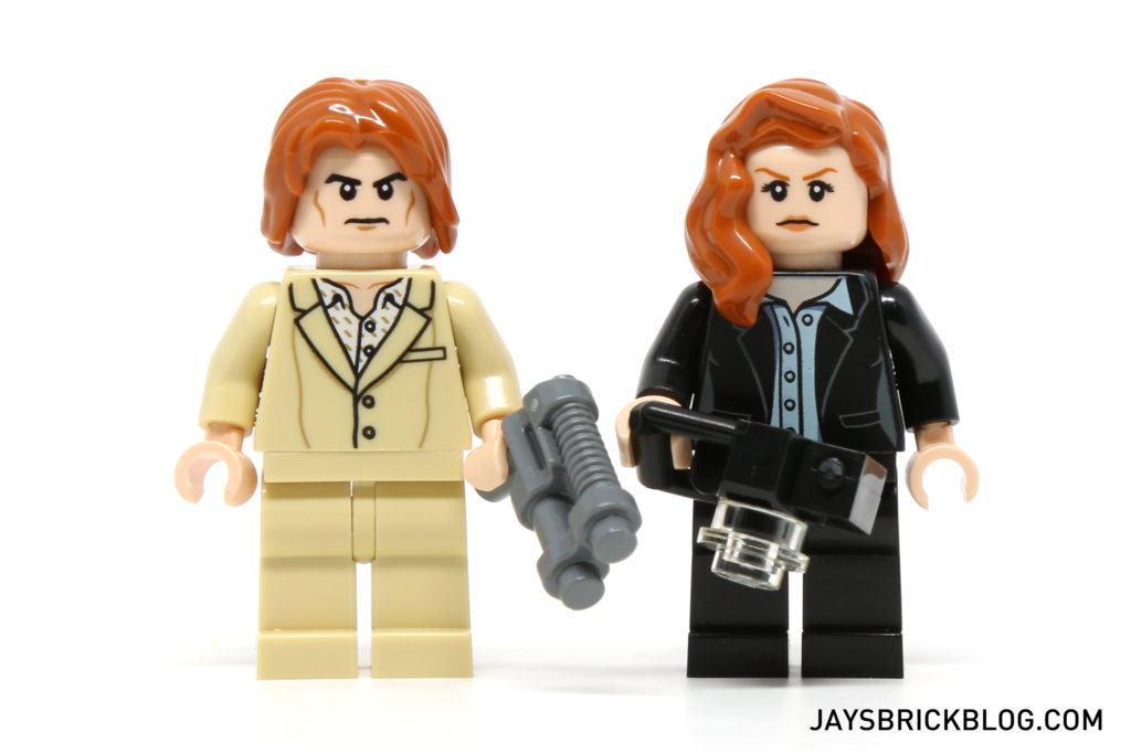 LEGO 76046 Heroes of Justice Sky High Battle - Lex Luthor and Lois Lane Minifigure