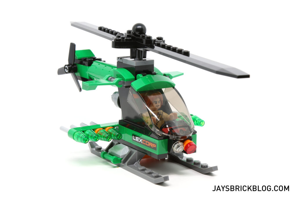 LEGO 76046 Heroes of Justice Sky High Battle - Lexcorp Helicopter