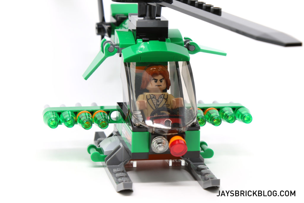 LEGO 76046 Heroes of Justice Sky High Battle - Lexcorp Helicopter Cockpit