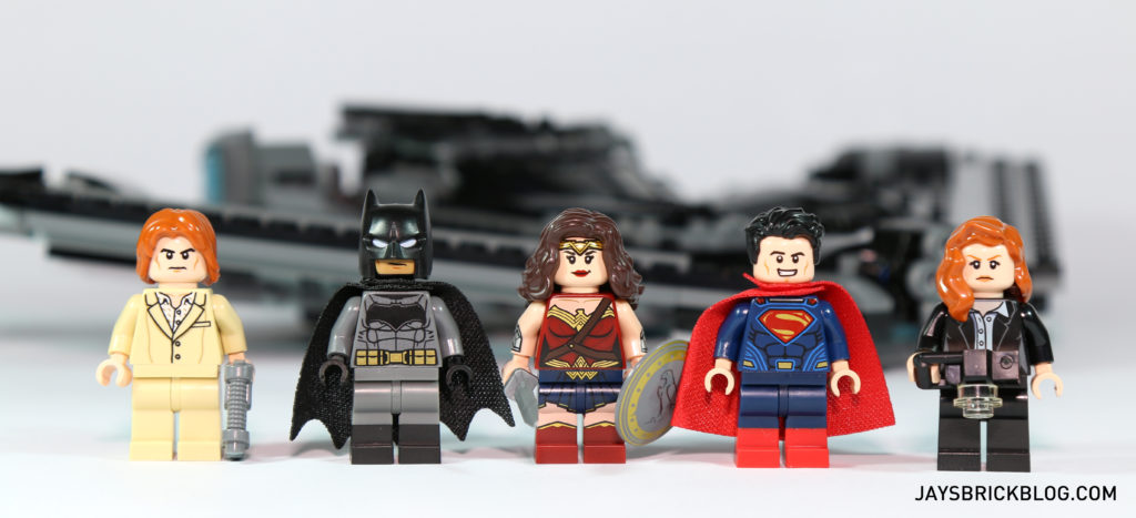 LEGO 76046 Heroes of Justice Sky High Battle - Minifigures