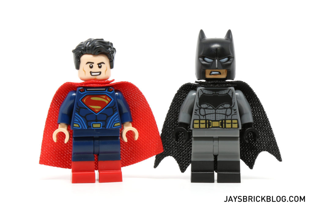 LEGO 76046 Heroes of Justice Sky High Battle - Superman and Batman Minifigures