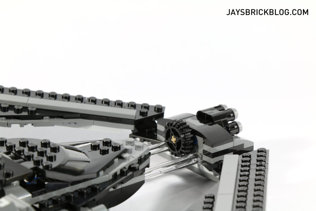 LEGO 76046 Heroes of Justice Sky High Battle - Transparent Connectors