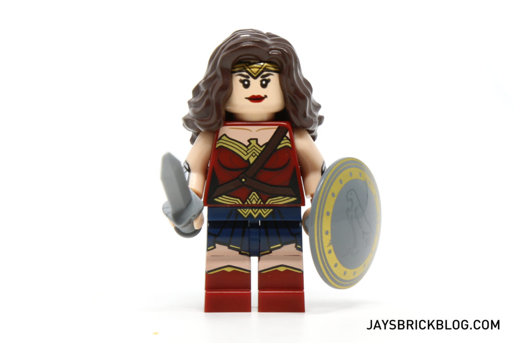 LEGO 76046 Heroes of Justice Sky High Battle - Wonder Woman Minifigure
