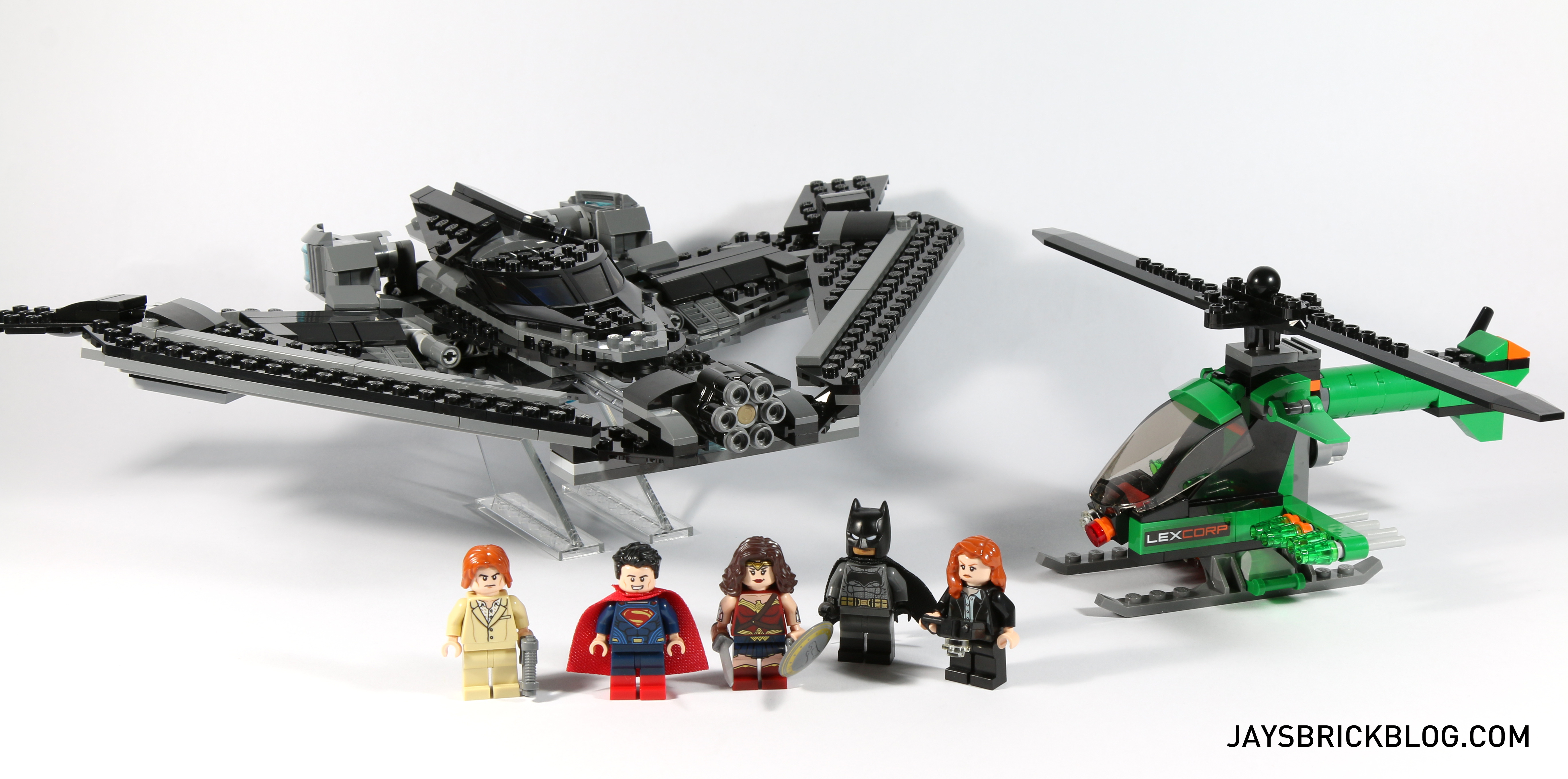 Review: LEGO 76046 Heroes of Justice Sky High Battle