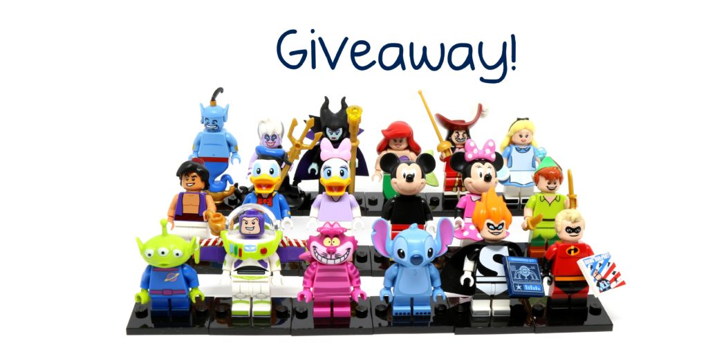 Giveaway: Win a complete set of LEGO Disney Minifigures!