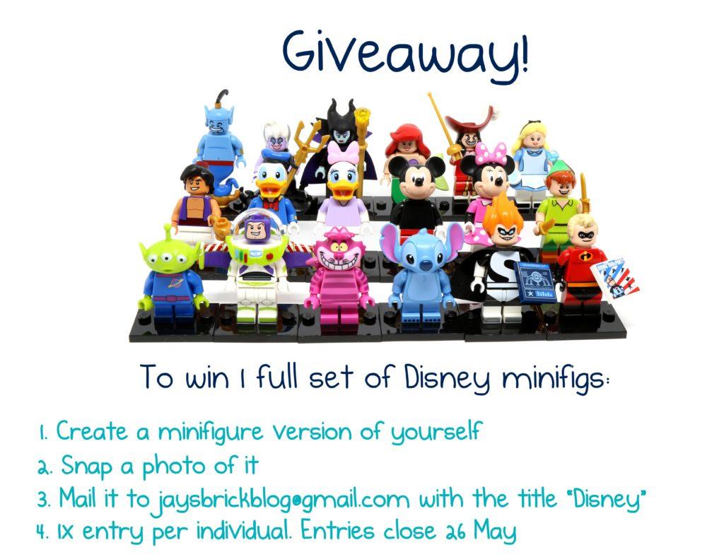 LEGO Disney Minifigures Giveaway