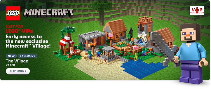 LEGO Minecraft 21128 The Village VIP Early Access