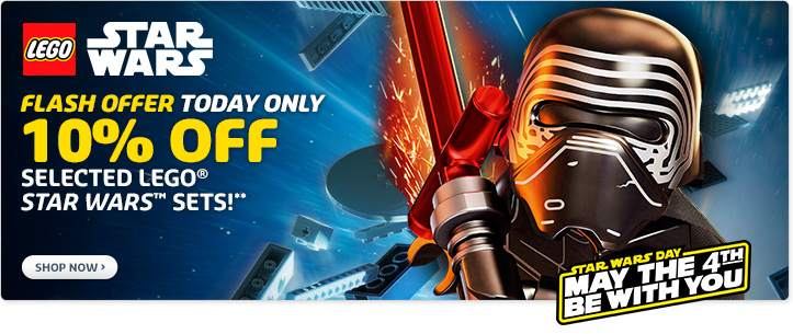 May the 4th Star Wars offers from LEGO [AUS/US]