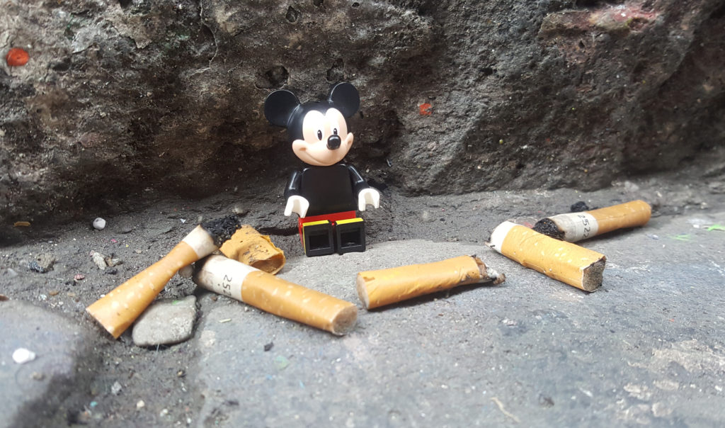 Brickstameet June 2016 - Mickey and ciggies
