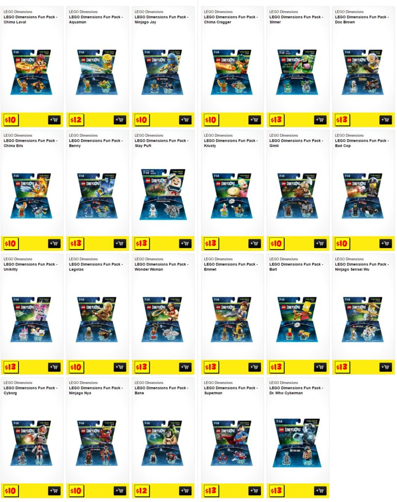 JB Hifi Dimensions Fun Pack Sale