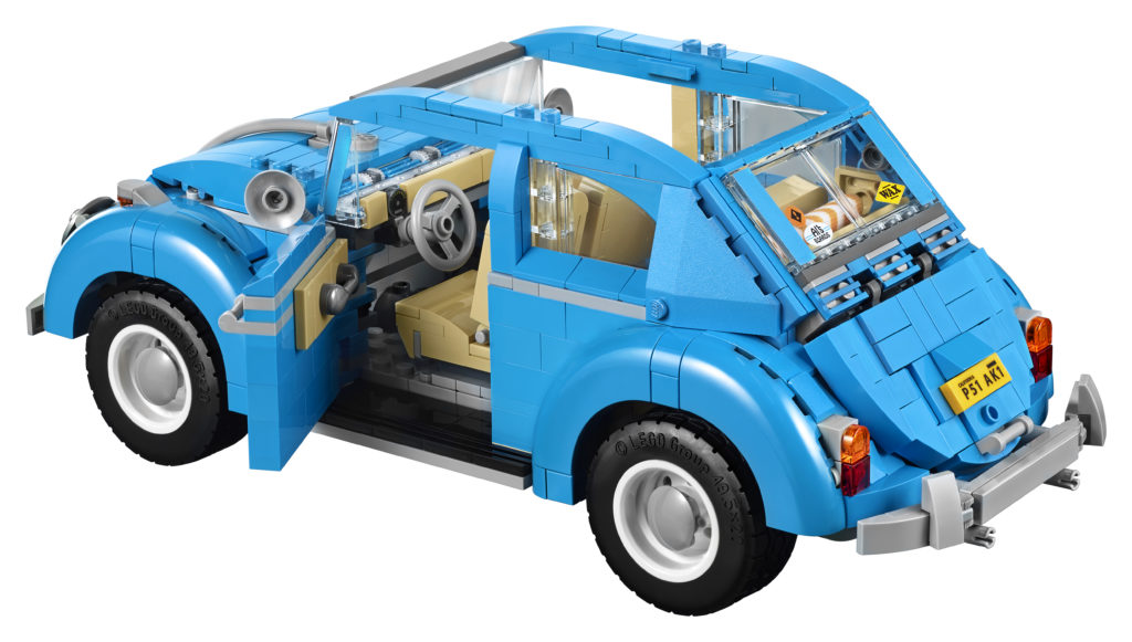 LEGO 10252 Volkswagen Beetle - Back Side View