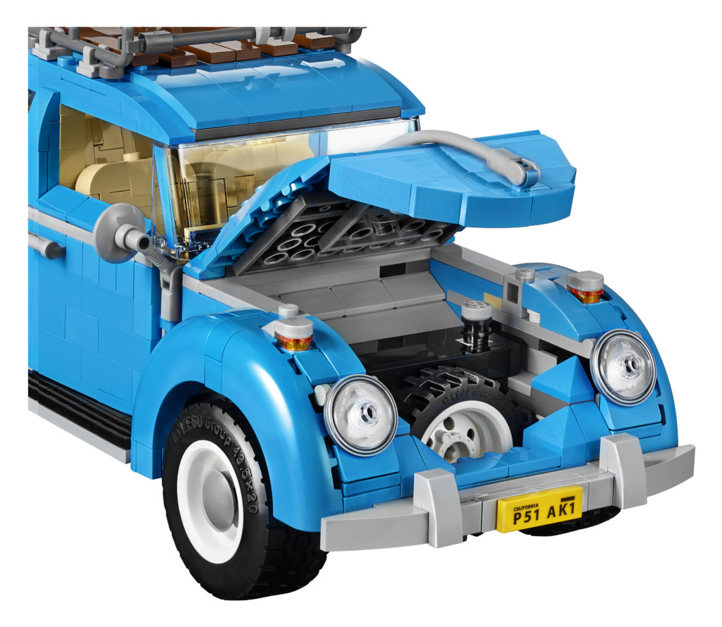 LEGO 10252 Volkswagen Beetle - Bonnet Spare Wheel